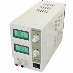 0 2a 0 18vdc Adjustable Dc Regulated Bench Power Supply csi1802x