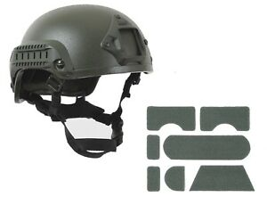 Airsoft Helmet ABS Plastic Base Jump Tactical Olive Drab Green Rothco 1894