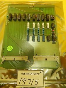 Semifusion 120 32 Bit Interface Pcb Card Ultratech Stepper Ultrastep 1000 Used