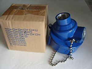 Nib Ime Thermocouple Head 3 4 X 3 4 Npt Nema 4 Explosion Proof 1080mw 33 Blue