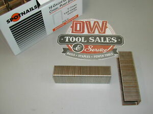 1610pg Wide Crown Staples 1 1 4 16 Gauge Galvanized S2 Bostitch Type 10 000