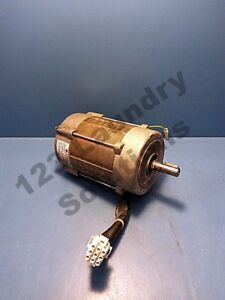 Dryer Td3030 Drum Motor Wascomat Eb95c80 2t 200 240v 60hz Motor Used