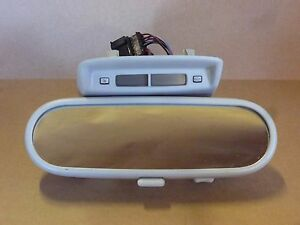 Vw New Beetle Rear View Mirror W clock 1998 2001