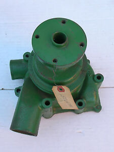 Oliver white new Old Stock Water Pump With Original Pulley Part 157069as