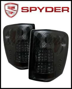 Spyder Jeep Grand Cherokee 99 04 Led Indicator Led Tail Lights Smoke