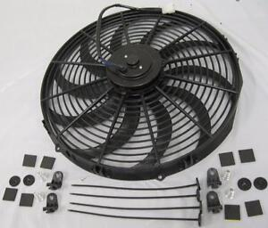 16 Inch Extreme Duty High Cfm S Blade Electric Radiator Cooling Fan Mount Kit