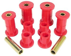 1987 1996 Jeep Wrangler Yj Front Spring Eye Shackle Bushing Kit Prothane 1 1005