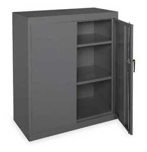 Storage Cabinet gray 42 In H 36 In W Zoro Select 1ufc2