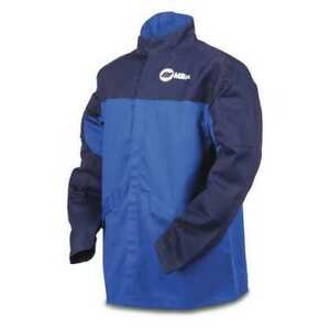 Miller Electric 258100 Arcarmor Welding Jacket royal nvy ctn Indura 2xl