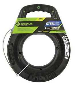 Greenlee Fts438dl 250 Fish Tape 1 8 In X 250 Ft steel