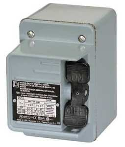 Manual Motor Switch Square D 2510kw2h