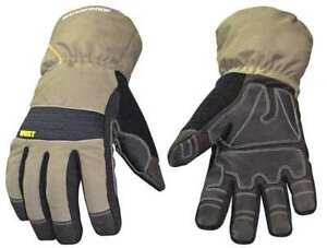 Youngstown Glove Co 11 3460 60 l Cold Protection Gloves large gry grn pr