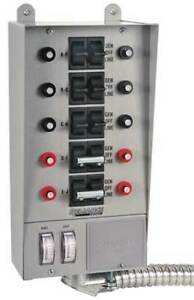 Manual Transfer Switch 60a 125 250v Reliance 30310a