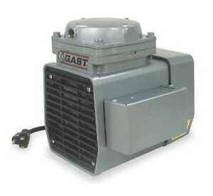 Gast Doa p707 fb Compressor vacuum Pump 1 3 Hp 50 60 Hz