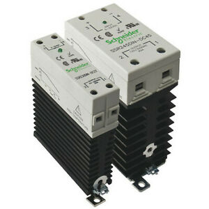 Solid State Relay 3 To 32vdc 45a Schneider Electric Ssr245din dc45