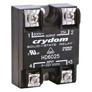 Solid State Relay 4 To 32vdc 25a Crydom Hd4825