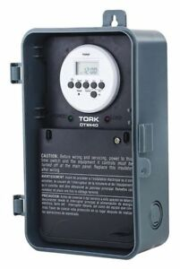 Electronic Water Heater Timer 24 Hr dpdt Tork Dtwh40