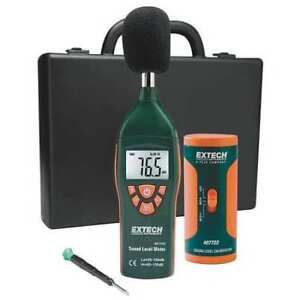 Digital Sound Level Meter Kit Extech 407732 kit