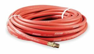 3 4 X 50 Ft Nitrile Coupled Multipurpose Air Hose 250 Psi Rd Speedaire 5z333