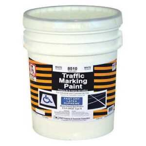 Traffic Marking Paint white 5 Gal Rae 8510