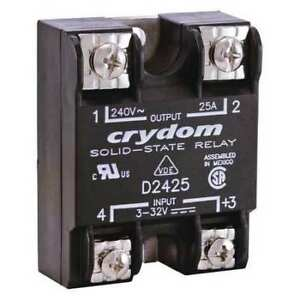 Solid State Relay 3 To 32vdc 25a Crydom D2425 b