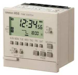 Omron H5s wb2 Electronic Timer 7 Days 2 Spst no