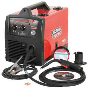 Lincoln Electric K2696 1 Portable Flux Core Welder Easy Core 125 Series 120vac