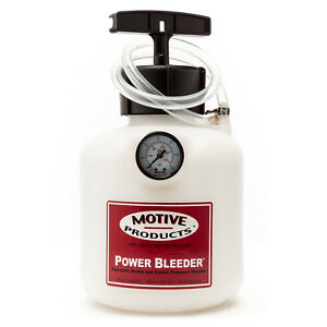 Motive Products Ford Three Prong Power Bleeder W Adapter Pn 0107