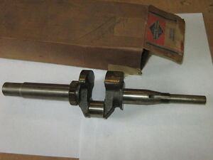 Genuine Nos Antique Briggs Stratton Gas Engine Crank Shaft 260224