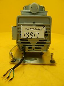 Gast Manufacturing Doa v127 dd Diaphragm Vacuum Pump Used Working