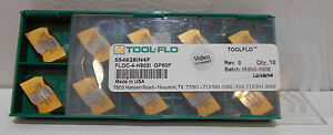 Tool Flo Fldc4 Internal Api Hughes H90 Threading Inserts 3 1 2 Tpi Gp50f