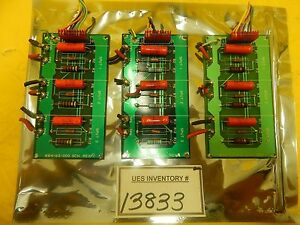 Mrc Materials Research 884 63 000 Sput Transformer Pcb Lot Of 3 Eclipse Used
