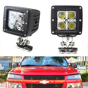 40w Cree Led Pods W Universal A pillar Hinge Bracket wirings For Truck Jeep Suv
