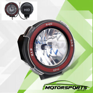 Unviersal Mount On 4 6000k Xenon Hid 4x4 Off Road Light Fog Driving Lamp