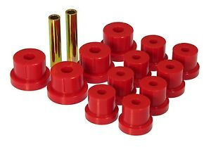 1967 1969 Camaro Firebird Rear Multi Leaf Spring Bushing Kit Red Prothane 7 1011