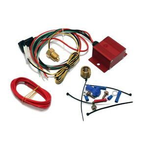 Red Adjustable Electric Cooling Fan Controller Wiring Harness Kit 150 240 Degree