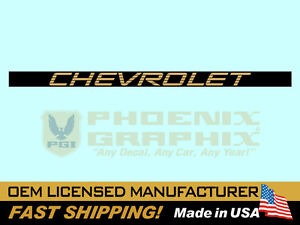 1994 1995 Chevrolet S 10 Truck End Tailgate Decal