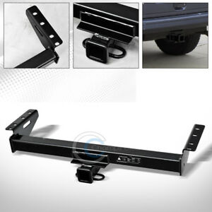 Class 3 Trailer Hitch Receiver Rear Bumper Tow Kit 2 For 84 01 Jeep Cherokee Xj