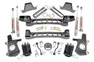 1999 2006 Chevy Gmc Silverado Sierra 1500 2wd Rough Country 6 Lift Kit 234n2