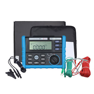Digital Insulation Grounding Resistance Tester Resistance Measuring Instrument