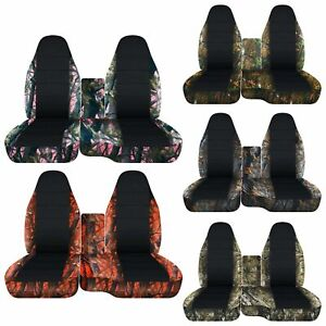 Cc 91 015 Ford Ranger Car Seat Covers Front Center Console Cover Camo Black