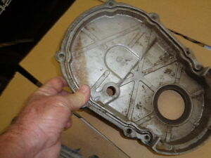 8 1l 496 Bbc Marine Mercruicer Boat Gm Chevrolet Perf Timing Cover With Hole