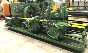 Warner Swasey M3550 Model 4a Saddle Type Turret Lathe