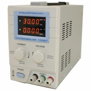0 30v 0 5a Linear Bench Power Supply Csi3005t Circuit Specialists