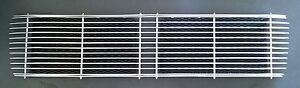 Porsche 911 912 65 68 Aluminum Engine Lid Deck Lid Grille Polished Black New