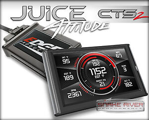 Edge Cts 2 Juice W Attitude Race Tuner For 98 5 00 Dodge Ram 5 9l Cummins Diesel