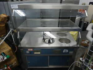Servolift Eastern Hot Buffet Serving Line Portable Plate Warmers Soup Station