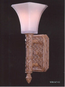 Feiss East Winds Wall Sconce Country Cream Wb1147cc Open Box