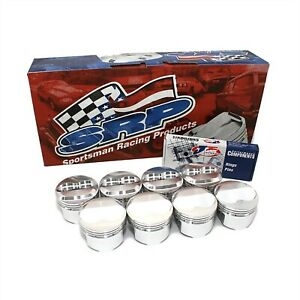 Srp 140349 385 Small Block Chevy Dome Top Pistons 40 Bore 6 Rod 3 750 Stroke