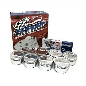 Small Block Chevy 383 Dish Top Pistons 30 Bore 6 Rod 3 750 Stroke 138103